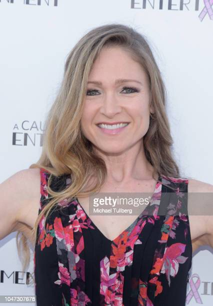 Julie Nathanson attends A Cause For Entertainment's 4th annual fundraising event to fight breast cancer at Candela on October 7 2018 in Los Angeles...