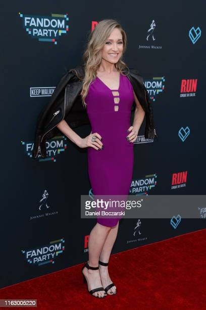 Julie Nathanson attends the Fandom Party at SDCC 2019 featuring RUN the first liveaction thriller by Cirque du Soleil at Float at Hard Rock Hotel San...