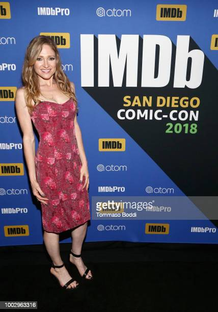 Julie Nathanson attends the #IMDboat Party At San Diego ComicCon 2018 Sponsored By Atom Tickets at The IMDb Yacht on July 20 2018 in San Diego...