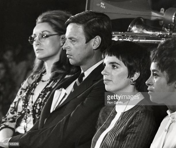 Julie Newman, George Plimpton, Liza Minnelli and guest