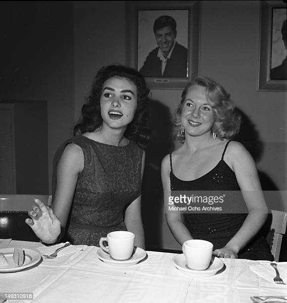 SEPTEMBER 23 Julie Newmar and other young stars of Paramount Pictures attend a party to celebrate newly minted star Bob Ivers and the release of...