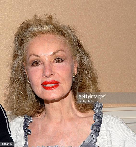 Julie Newmar attends the 10th annual Super Megashow and Comic Fest at the Crowne Plaza Hotel on July 12 2008 in Fairfield New Jersey