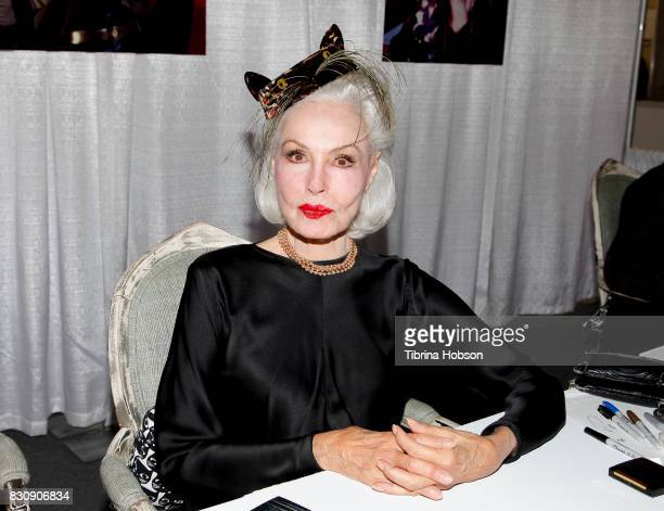 Julie Newmar attends the 3rd Annual CatCon at Pasadena Convention Center on August 12 2017 in Pasadena California