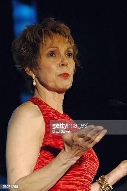 Julie Nixon Eisenhower speaks speaks at the China Institute Annual Benefit Gala at the Mandarin Oriental Hotel June 15 2005 in New York City Ho...