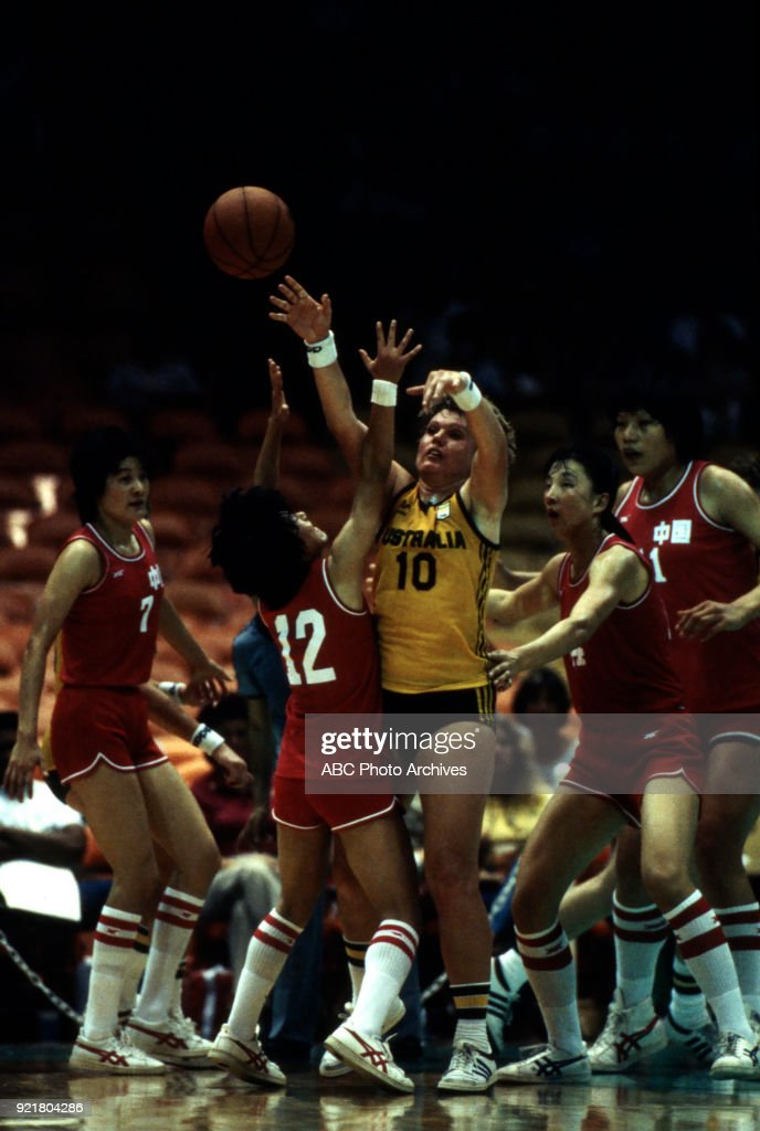Women's Basketball Competition At The 1984 Summer Olympics : News Photo