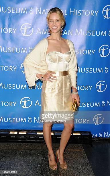 Julie Ordon attends the 2010 AMNH Museum Dance at the American Museum of Natural History on April 15 2010 in New York City