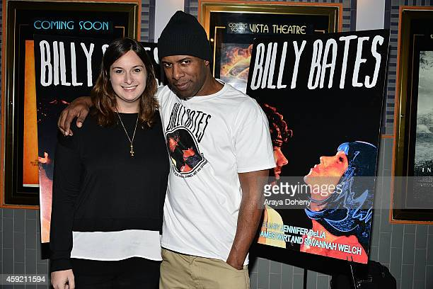 Julie Pacino and DJ Whoo Kid attend the BILLY BATES LA Premiere Directed By Jennifer DeLia Starring James Wirt And Savannah Welchl Produced By Julie...
