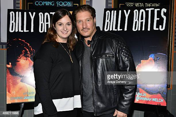Julie Pacino and Sean Kanan attend the BILLY BATES LA Premiere Directed By Jennifer DeLia Starring James Wirt And Savannah Welchl Produced By Julie...