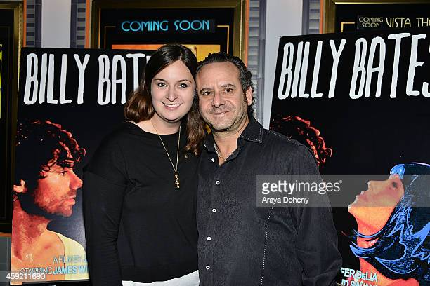 Julie Pacino and Steven G Kaplan attend the BILLY BATES LA Premiere Directed By Jennifer DeLia Starring James Wirt And Savannah Welchl Produced By...