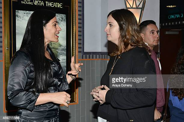 Julie Pacino attends the BILLY BATES LA Premiere Directed By Jennifer DeLia Starring James Wirt And Savannah Welchl Produced By Julie Pacino at Los...