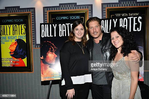 Julie Pacino Sean Kanan and Jennifer DeLia attend the BILLY BATES LA Premiere Directed By Jennifer DeLia Starring James Wirt And Savannah Welchl...