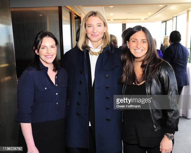 Julie Packin Lily Snyder and Jamie Horowitz attend AFIM Spring Luncheon at The Rainbow Room on April 10 2019 in New York City