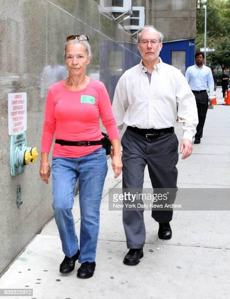 Julie Patz left and Stanley Patz Etan Patz's parents photographed in front the Manhattan district attorney's office on Wednesday October 16 2013