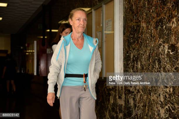 Julie Patz the mother of Etan Patz in Manhattan Supreme Court on Monday September 15 2014 She was attending a hearing for Pedro Hernandez that was...