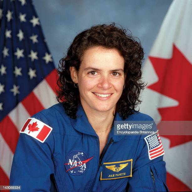 Julie Payette, Julie Payette, An International Astronaut, Mission Specialist, Representing The Canadian Space Agency .