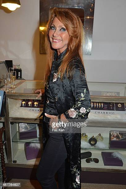 Julie Pietri attends 'Charriol' Ephemeral Boutique opening hosted by Nathalie Garcon at Galerie Vivienne on April 28 2014 in Paris France