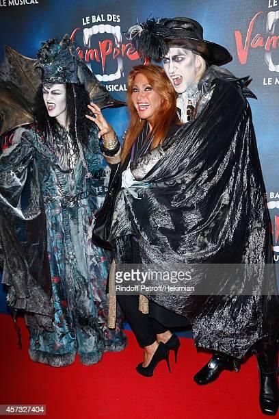 Julie Pietri attends 'Le Bal Des Vampires' Premiere at Theatre Mogador on October 16 2014 in Paris France