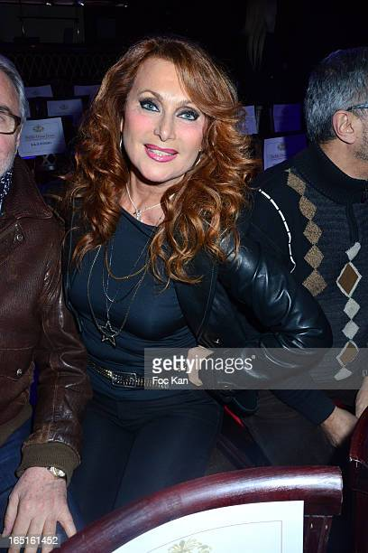 Julie Pietri attends the 'OmarJeans' Launch Party At The Pavillon Champs Elysees on March 31 2013 in Paris France