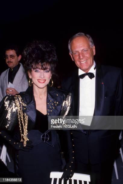 Julie Pietri lors d'une soirée en hommage à dalida à Paris le 31 mars 1988 France