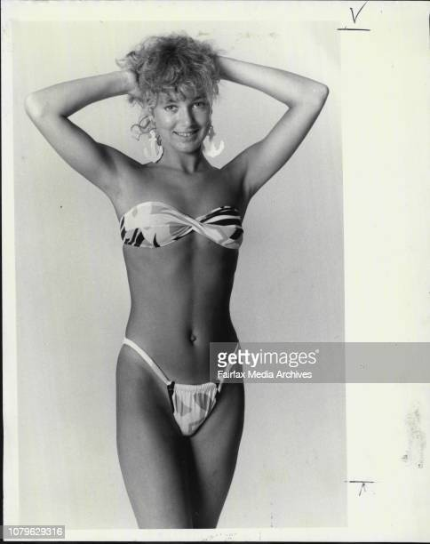 Julie Provan.Here's a bit of good ol'Aussie know how!This skimpy suit shows how Australia made its name in the swimwear world with stylish, and...