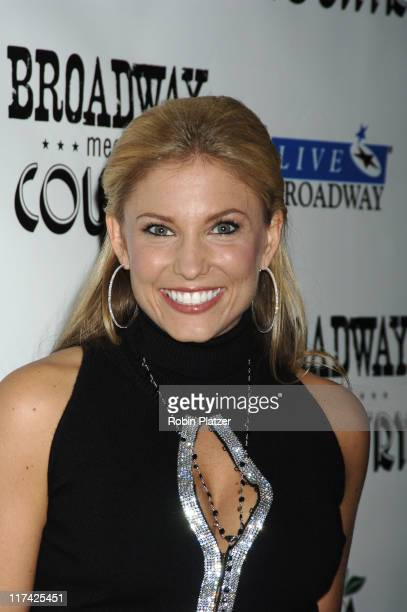 Julie Roberts during Country Takes New York City - Broadway Meets Country - Outside Arrivals at Allen Room, Jazz at Lincoln Center in New York City,...