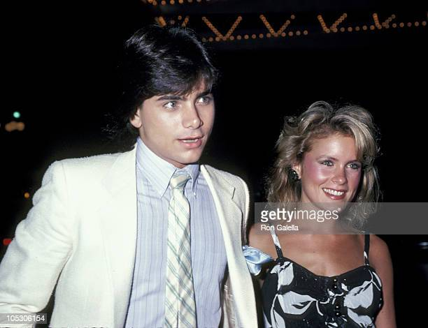 Julie Ronnie and John Stamos during 1983 ABC TV Fall Season Party at Century Plaza Hotel in Los Angeles California United States