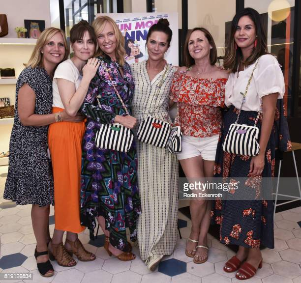 Julie Rudd Alethea Jones Toni Collette Katie Aselton Molly Shannon and Naomi Scott attend the release party for 'Fun Mom Dinner' at Clare V on July...