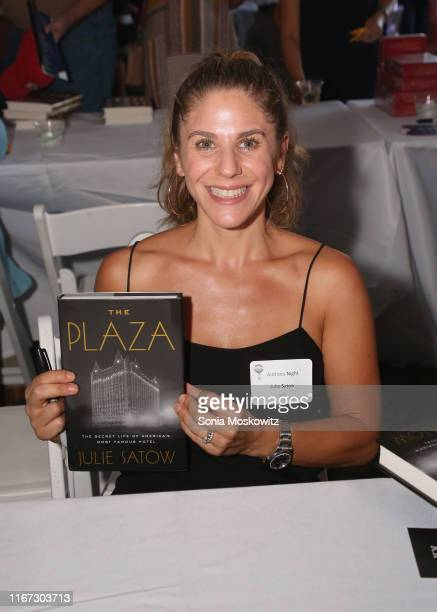 Julie Satow at the East Hampton Library's 15th Annual Authors Night Benefit on August 10 2019 in Amagansett New York