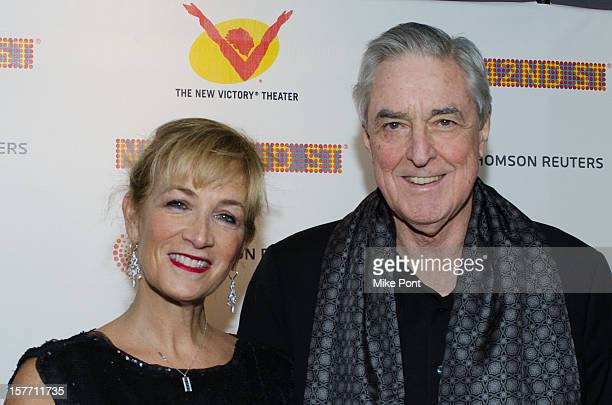 Julie Singer Scanlan and Phillip Scanlan attends the 2012 New 42nd Street gala at The New Victory Theater on December 5, 2012 in New York City.