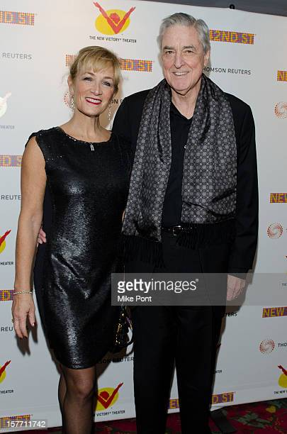 Julie Singer Scanlan and Phillip Scanlan attends the 2012 New 42nd Street gala at The New Victory Theater on December 5 2012 in New York City