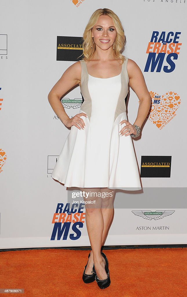 Julie Solomon arrives at the 21st Annual Race To Erase MS Gala at the Hyatt Regency Century Plaza on May 2, 2014 in Century City, California.