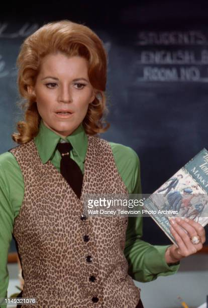Julie Sommars appearing in the unsold ABC tv pilot 'We Love You, Miss Merkle'.