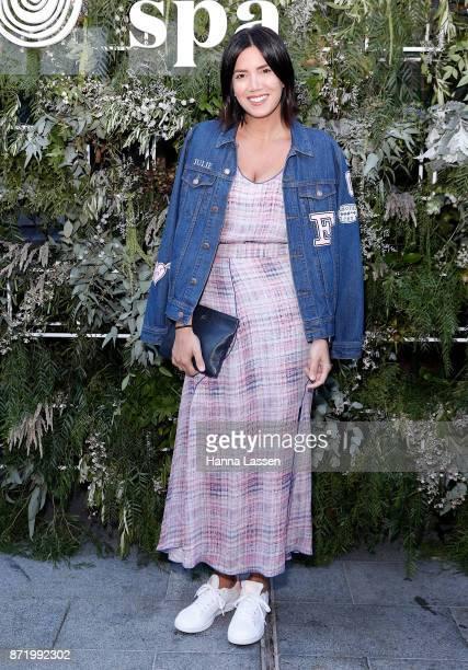 Julie Stevanja attends the Endota spa ambassador announcement on November 9 2017 in Sydney Australia