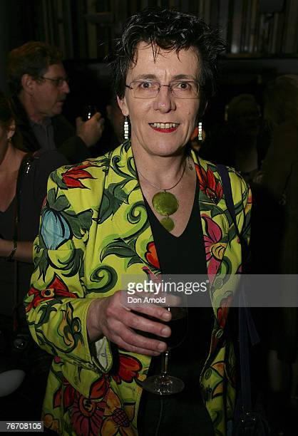Julie Symonds attends the 2007 Classical Music Awards at the Sydney Theatre September 12 2007 in Sydney Australia