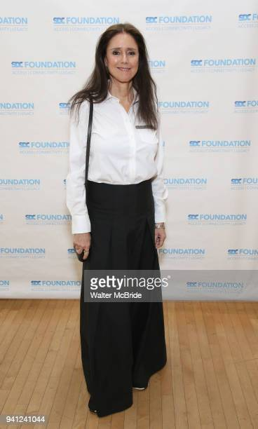 Julie Taymor and Pam McKinnon attends the Stage Directors and Choreographers Foundation event honoring Julie Taymor with the Mr Abbott Award at the...