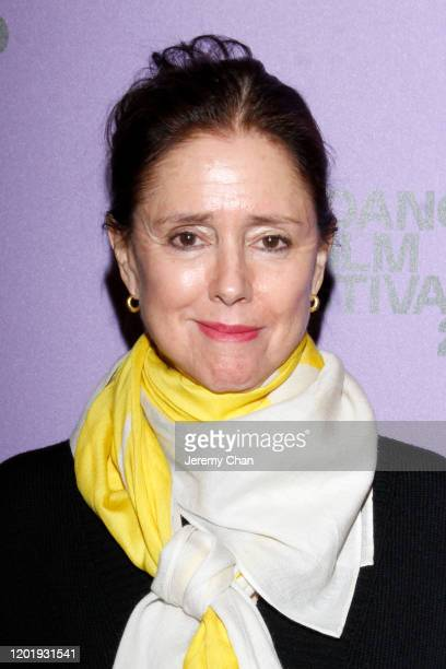 Julie Taymor attends the 2020 Sundance Film Festival Power Of Story Just Art Panel at Egyptian Theatre on January 25 2020 in Park City Utah