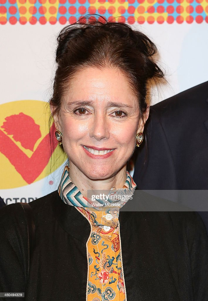Julie Taymor attends The New 42nd Street 2013 New Victory Arts Awards Gala dinner at The New Victory Theater on November 18, 2013 in New York City.