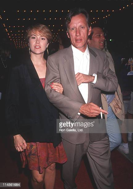 Julie Tesh and James Woods during Terminator 2 Judgment Day Los Angeles Premiere Arrivals in Los Angeles California United States