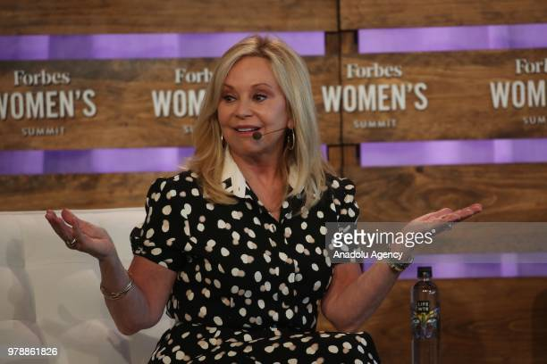 Julie Wainwright, Founder & Chief Executive Officer, The RealReal speaks at Forbes Women's Summit 2018 in New York, United States on June 19, 2018.