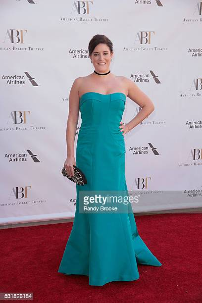 Julie Wald attends the 2016 American Ballet Theatre Spring Gala at The Metropolitan Opera House on May 16 2016 in New York City