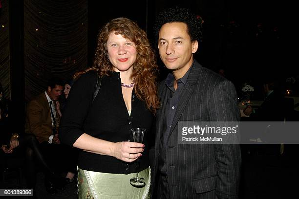 Julie Walsh and Thierry Alet attend WHITEWALL Magazine Launch Party hosted by GRAFF and NetJets at Four Seasons Restaurant on March 8 2006 in New...