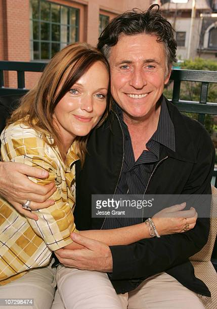 Julie Walters and Gabriel Byrne during 2005 Toronto Film Festival HP Portrait Studio Presented by WireImage and Inside Entertainment Day 4 at HP...