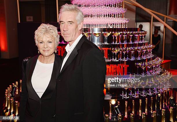 Julie Walters and Grant Roffey attend the Moet British Independent Film Awards 2013 at Old Billingsgate Market on December 8 2013 in London England