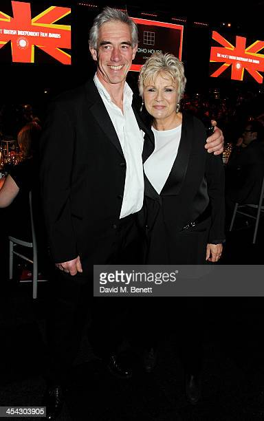 Julie Walters and Grant Roffey attend the Moet Reception at the Moet British Independent Film Awards 2013 at Old Billingsgate Market on December 8...