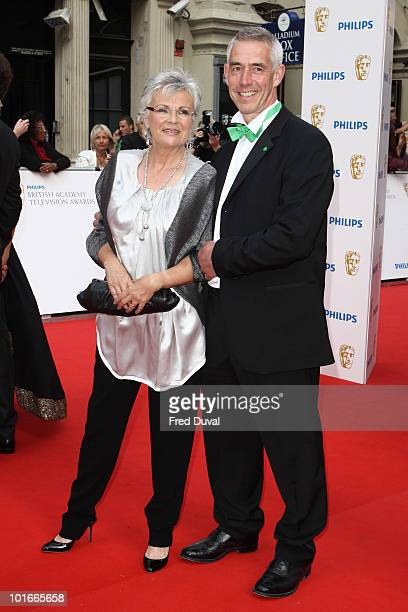 Julie Walters and Grant Roffey attend the Philips British Academy Television awards at London Palladium on June 6 2010 in London England