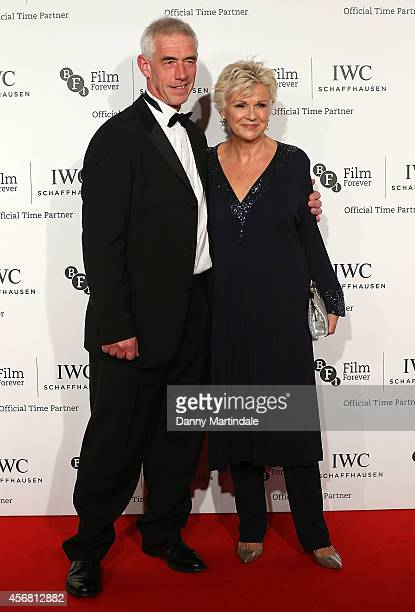 Julie Walters and Grant Roffey attends the IWC Gala dinner in honour of the BFI at Battersea Evolution on October 7, 2014 in London, England.