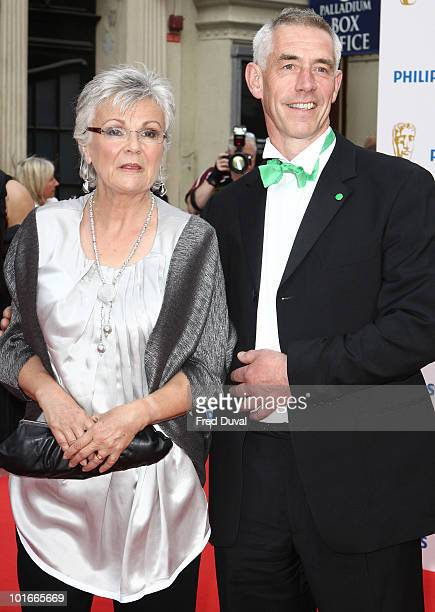 Julie Walters and Grant Roffey attends the Philips British Academy Television awards at London Palladium on June 6 2010 in London England