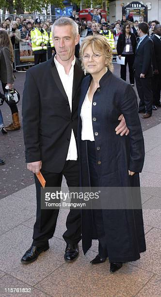 "Julie Walters and Grant Roffey during ""Wah Wah"" London Premiere at Odeon West End in London, Great Britain."