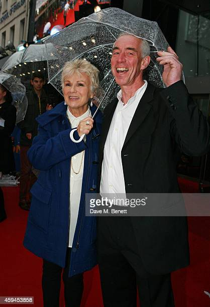 Julie Walters and husband Grant Roffey attend the World Premiere of Paddington at Odeon Leicester Square on November 23 2014 in London England