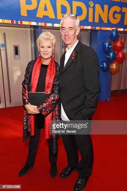 Julie Walters and husband Grant Roffey attend the World Premiere of Paddington 2 at Odeon Leicester Square on November 5 2017 in London England